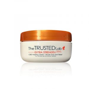 The Trusted Lab CBD Topical Cream Extra Strength