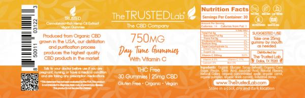 Daytime Gummy Label