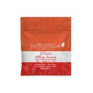 Wellness Gummy 5 pack with red bag