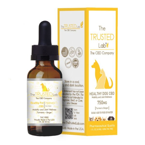 CBD WITH GINGER AND TURMERIC FOR DOGS