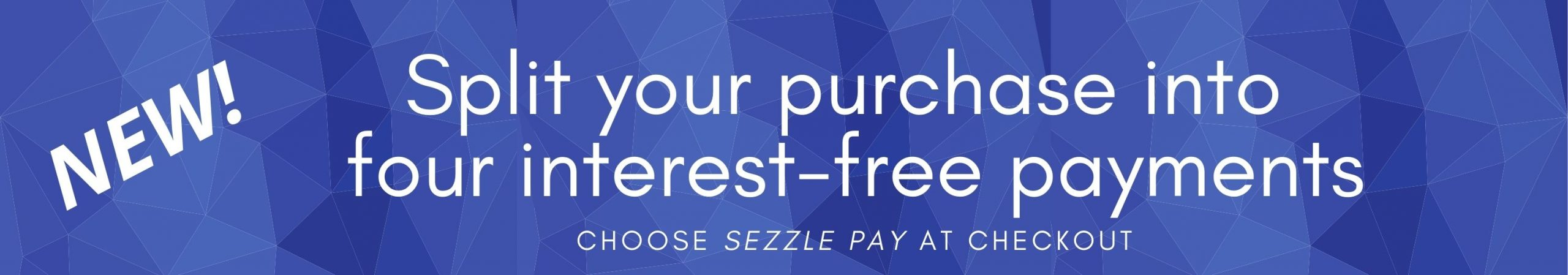 INTEREST FREE PAYMENTS